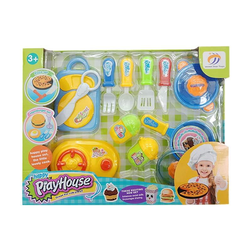 Seven Star Toys Play House Set Mainan Anak