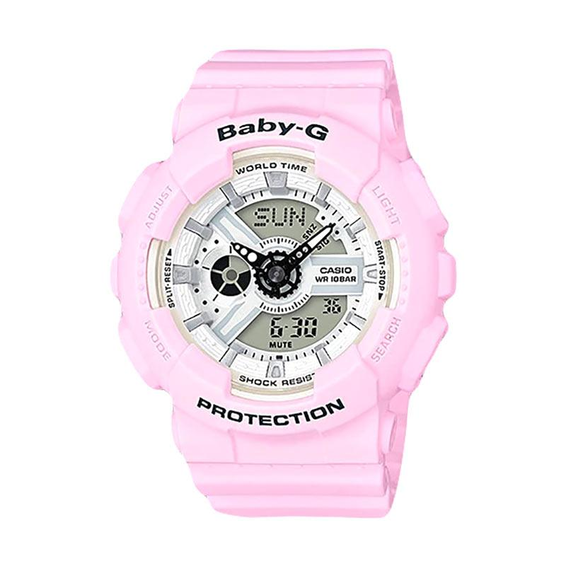 CASIO Baby G BA Digital Dial Resin Band Jam Tangan Wanita