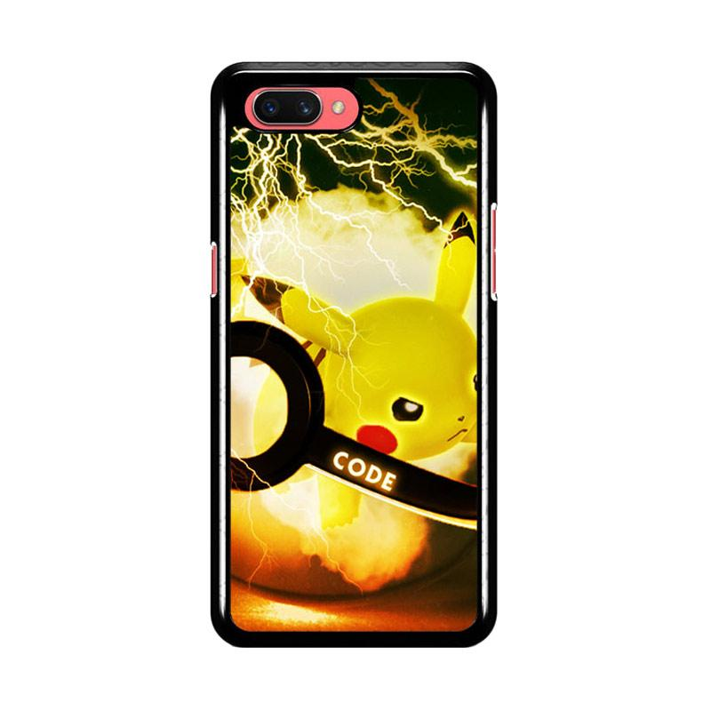 Flazzstore Pikacu Pokemon Ball Wallpaper Y1834 Premium Casing for Oppo A3S  or A5