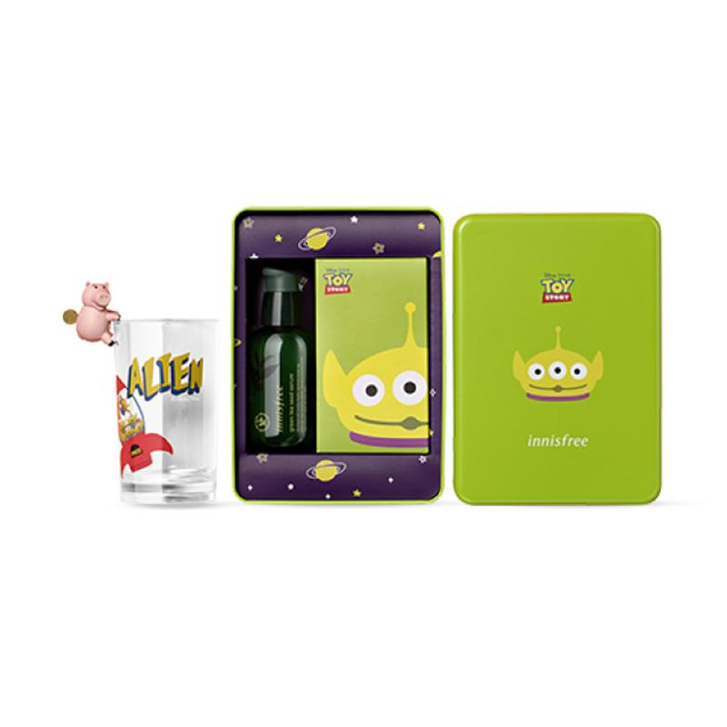 Innisfree X Toy Story Alien Toy Box Green Tea Seed Serum 80mL
