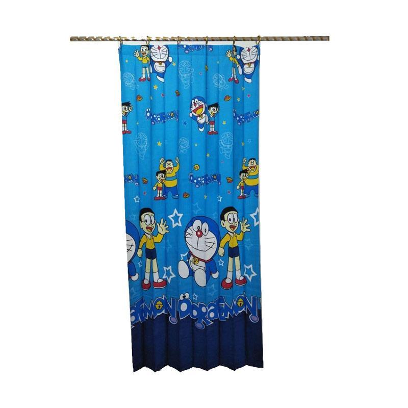 Jual Lokal Karakter Doraemon Model Plisket Gorden Pintu Terbaru Harga Promo September 2019 Blibli Com