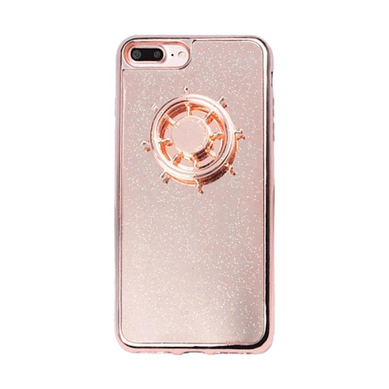 Bluelans 2 in 1 3D Hand Finger Spinner Toy Fidget Back Cover Casing for  iPhone 5S/6/7 Plus/7 4 7 Inch