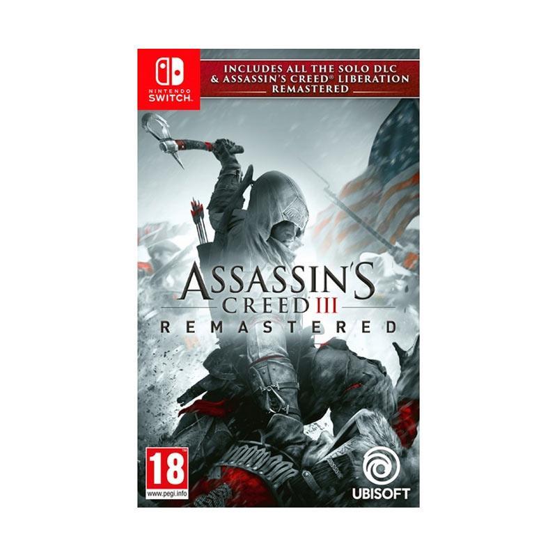Jual Assassins Creed Iii Remastered Nintendo Switch Game Murah