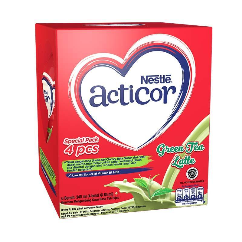 Nestle Acticor Green Tea Latte