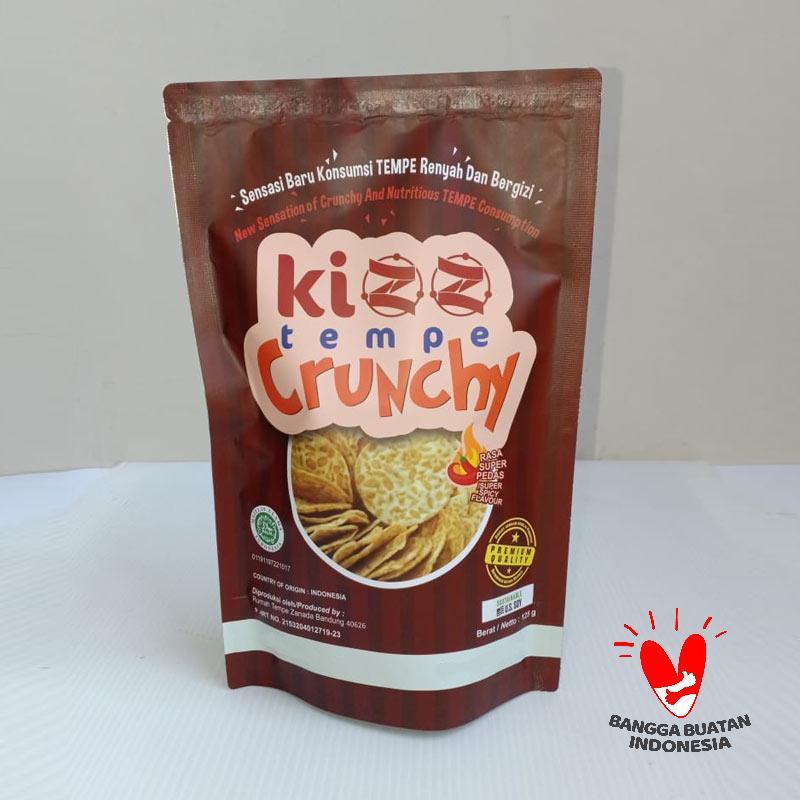 Kizz Tempe Crunchy Super Pedas Keripik