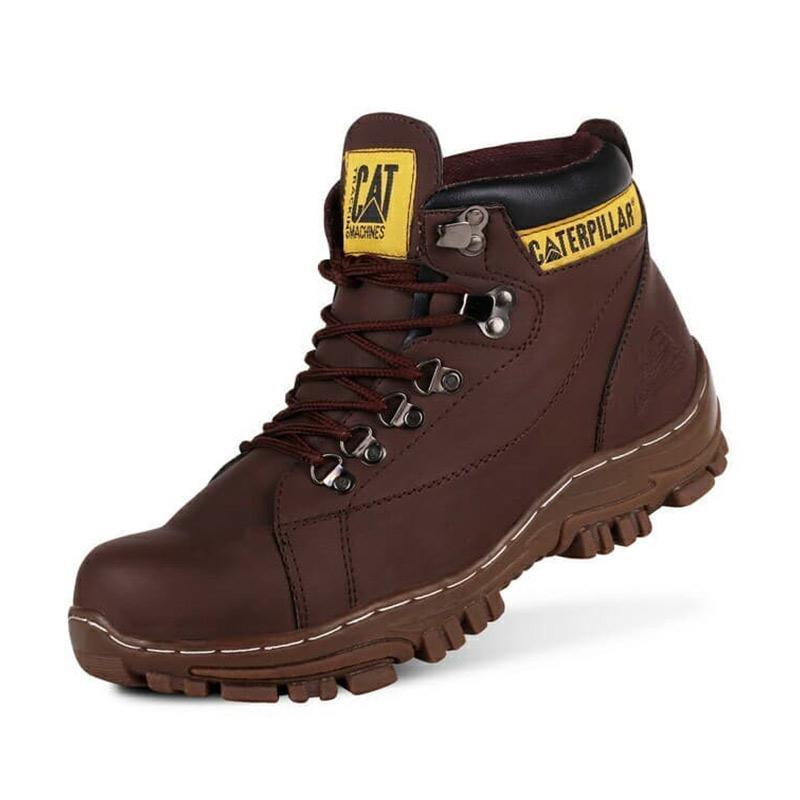 Jual Caterpillar High Tambang Glodok Steel Toe Caps Sepatu