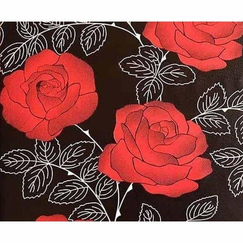 zhufu com zhufu com zf 10 1041 motif bunga mawar wallpaper sticker full04