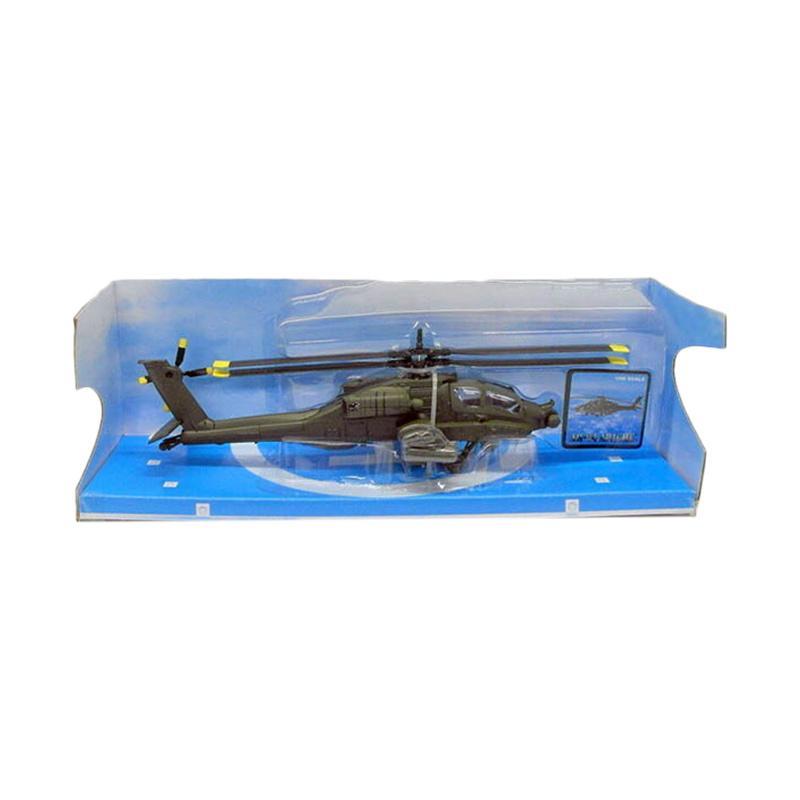 Jual Newray Sky Pilot Ah 64 Apache Diecast Dark Green 1 55