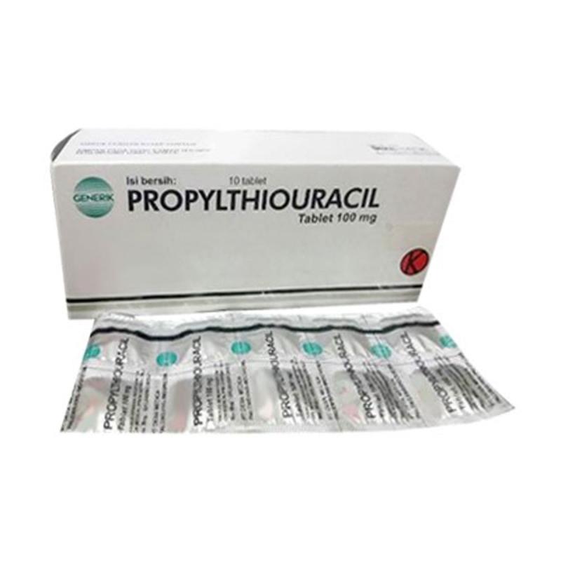 Jual Propylthiouracil Ptu Obat Resep Dokter 100 Mg 2 Pcs Online Februari 2021 Blibli