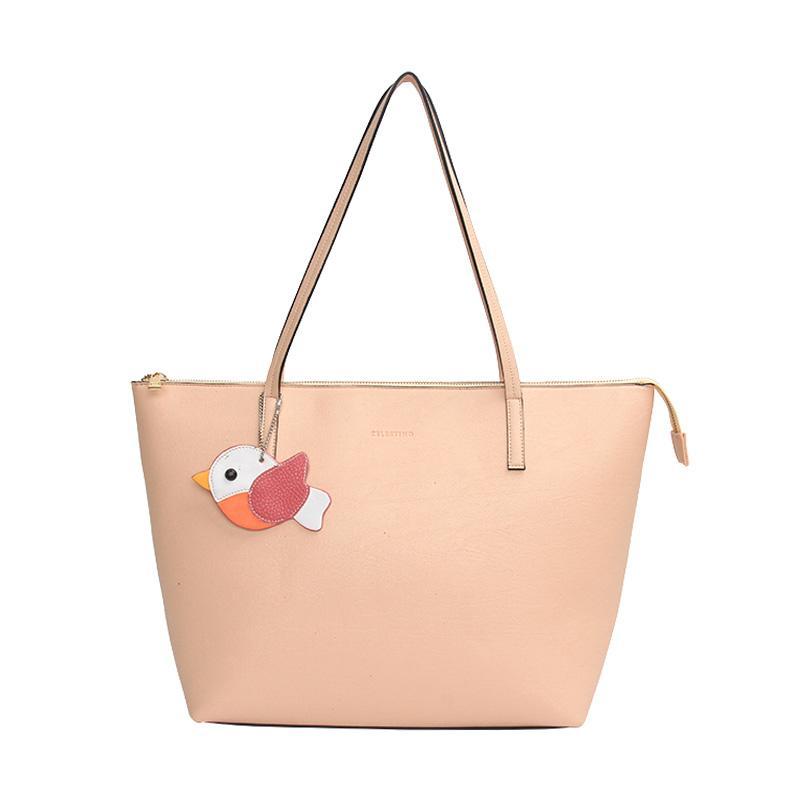 Celestino Malta Tote Bag Wanita Pink Sand