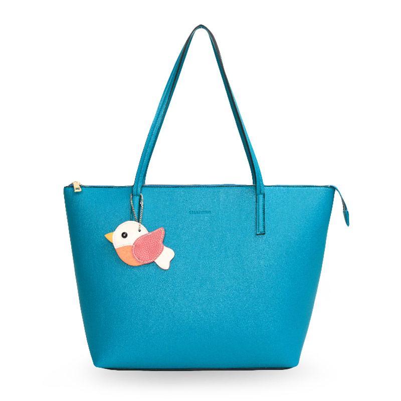 Celestino Malta Tote Bag Wanita Fanfare Blue