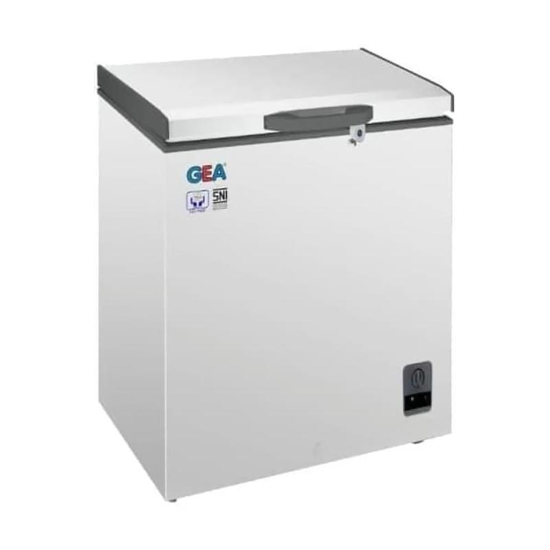 GEA AB-106R Chest Freezer - Putih [Khusus Jadetabek]