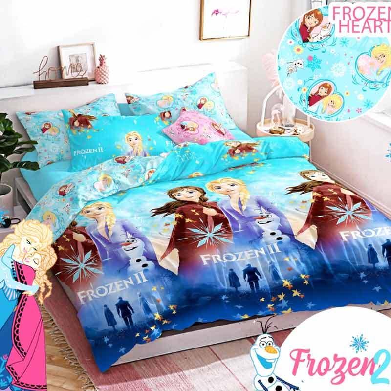 Jual King Motif Anak Frozen Sprei Biru Online November 2020 Blibli Com