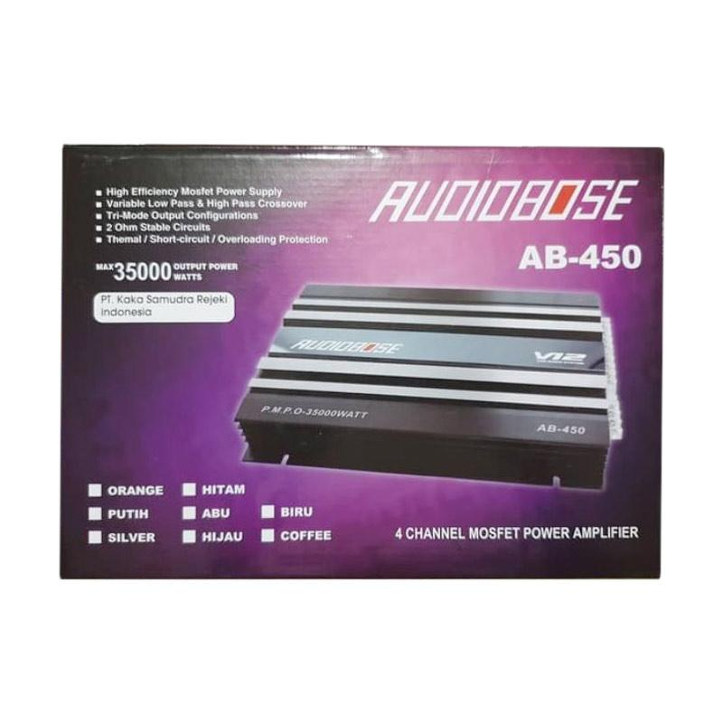 Jual Audiobose Ab 450 Power 4 Channel Amplifier Audio Mobil Online Februari 2021 Blibli