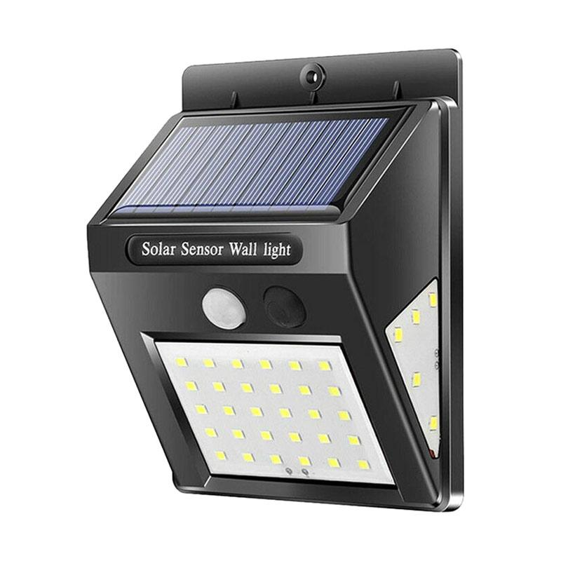 Jual Solar Led Power Lamp Motion Sensor Wall Light Outdoor Waterproof Pir Online Januari 2021 Blibli