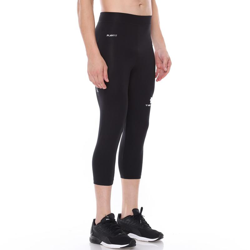 Jual Tiento Baselayer Men Rashguard Compression 3 4 Pants Black White Celana Legging Olahraga Pria Online Oktober 2020 Blibli Com