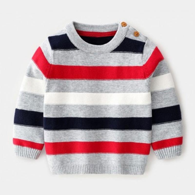 H M Import 4 Tone Sweater Anak