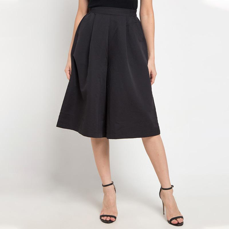 Giordano Mid Rise Elastic Woman Culottes