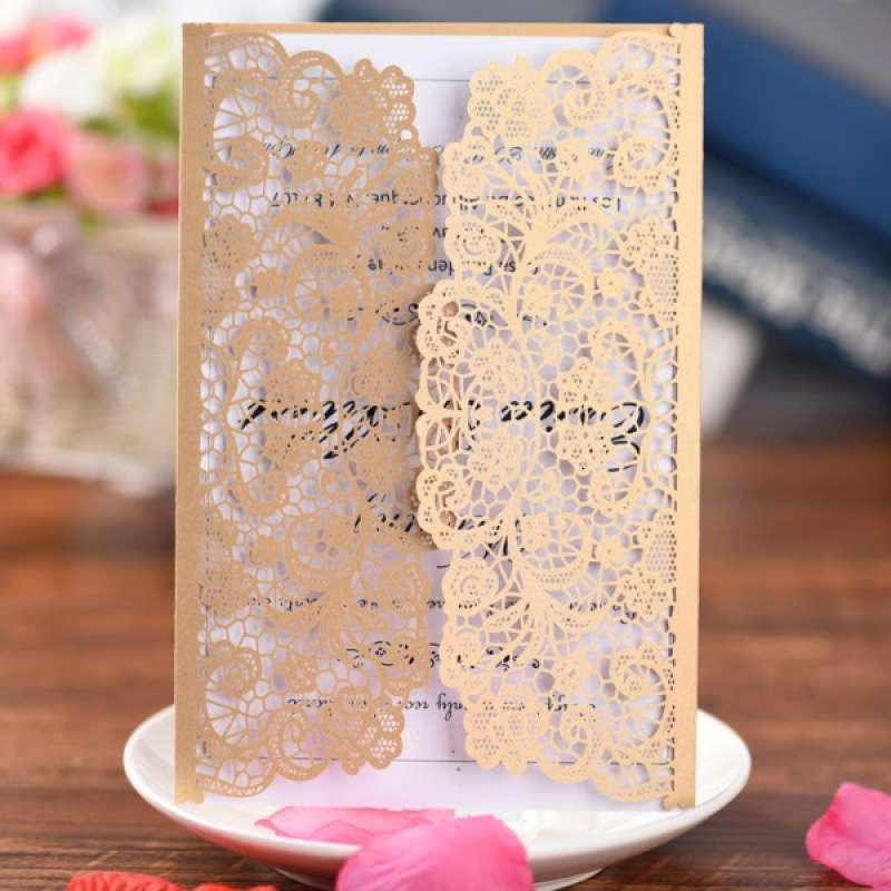 Jual Oem Invitation Envelope Wedding Supplies High Quality Creative Party Invitation Online April 2021 Blibli