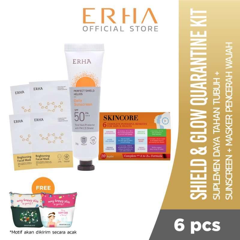 Erha Shield Glow Quarantine Kit