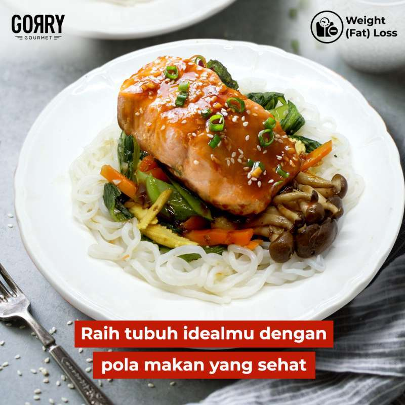 Gorry Gourmet Paket Weight Fat Loss 15 Days Lunch Dinner