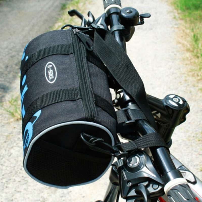 Jual Bicycle Handlebar Bag Packing Pouch Mtb Durable Bike Front Rack Roll Bag Online Desember 2020 Blibli