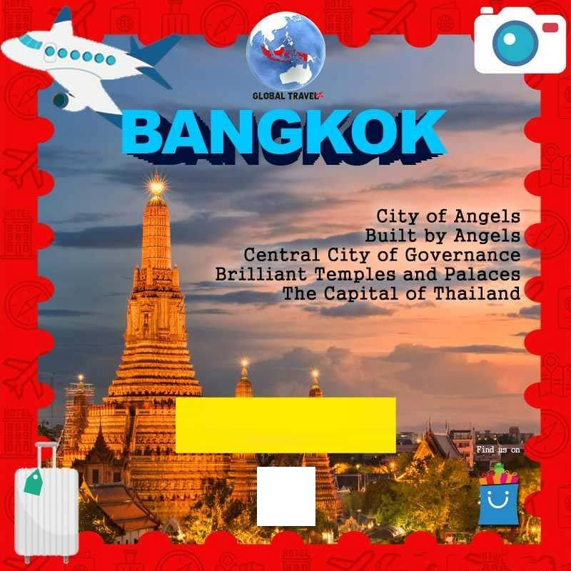 Jual Global Travelz Tiket Pesawat Kelas Ekonomi Jakarta Ke Bangkok By Thai Airways Online Maret 2021 Blibli