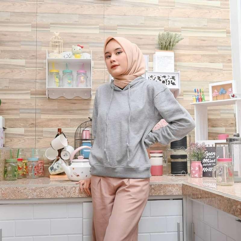 Jual Outwear Hoodie Crope Oversize Sweater Fleece Fashion Ootd Wanita Xl Casual Trendy Murah Promo Terbaru Online Maret 2021 Blibli