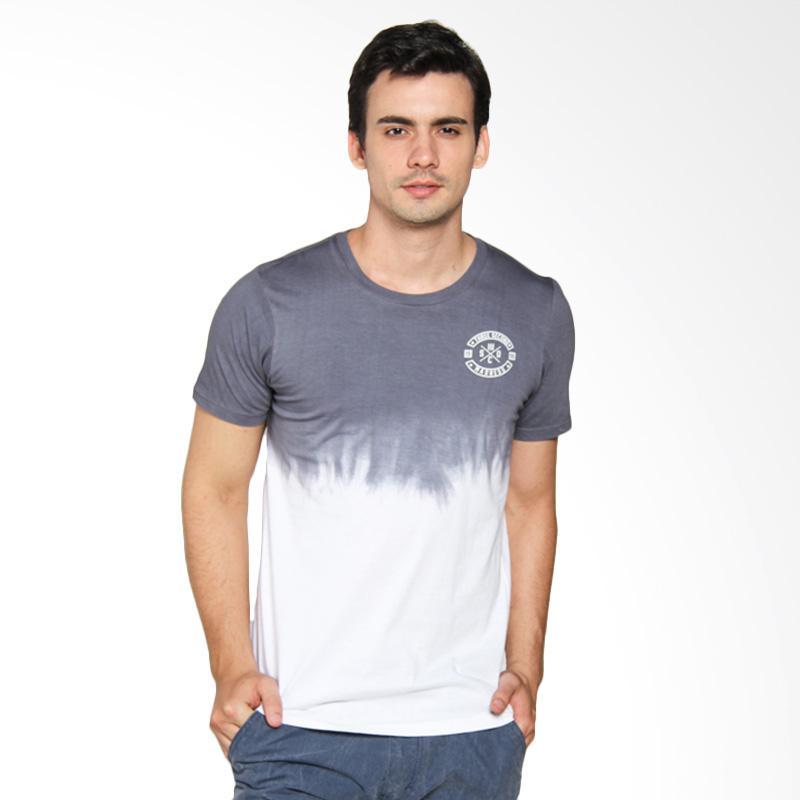 3SECOND Circle Logo Basic Man Tee - Grey [122031712]