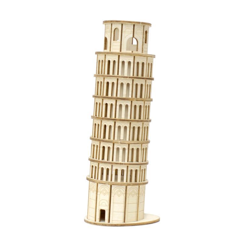 Kigumi Pisa Tower 3D Puzzle