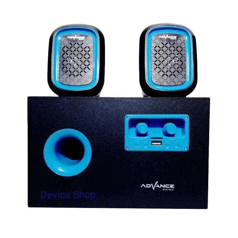 harga Advance Duo 600 Subwoofer Speaker - Biru Blibli.com