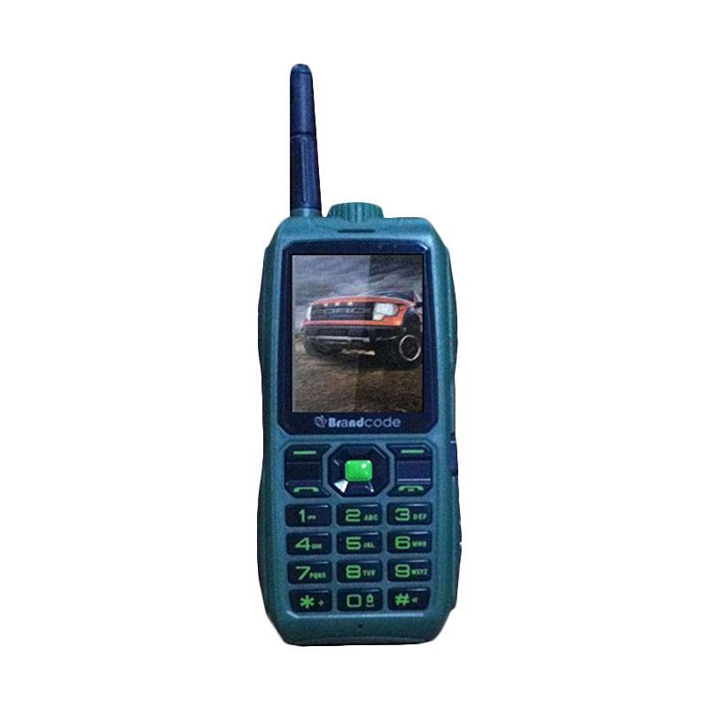 BrandCode B9900 Handphone - Hijau [Dual SIM]