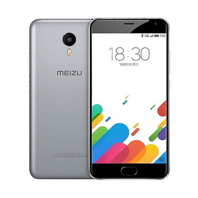 Meizu M3 Note Smartphone - Grey [32GB/ 3GB] + free tongsis