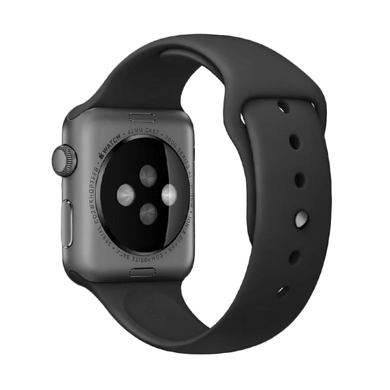 LOLLYPOP Strap Sports Band for Apple Watch 38mm - Black