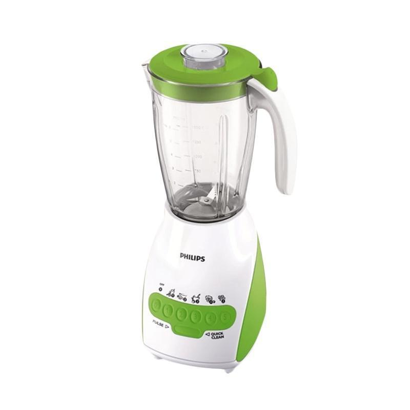 harga Philips Blender HR2116 / HR 2116 Kaca - Green [2L] Blibli.com