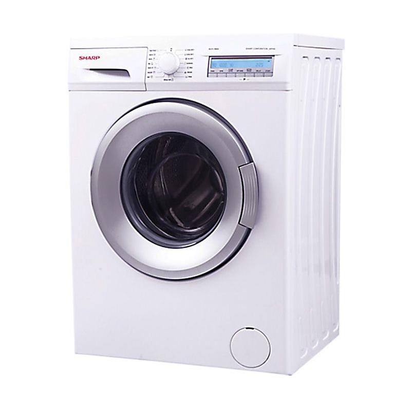 Sharp ES-FL1082G Front Load Mesin Cuci [8 kg]