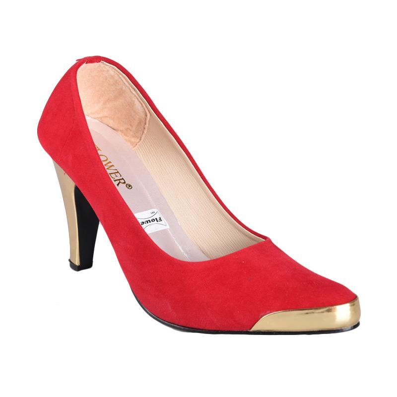 harga FP - RSM SN-154 Sepatu High Heels Wanita - Merah Blibli.com