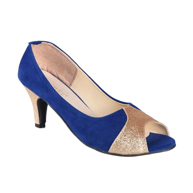 RSM SN-158 Sepatu High Heels Wanita - Biru