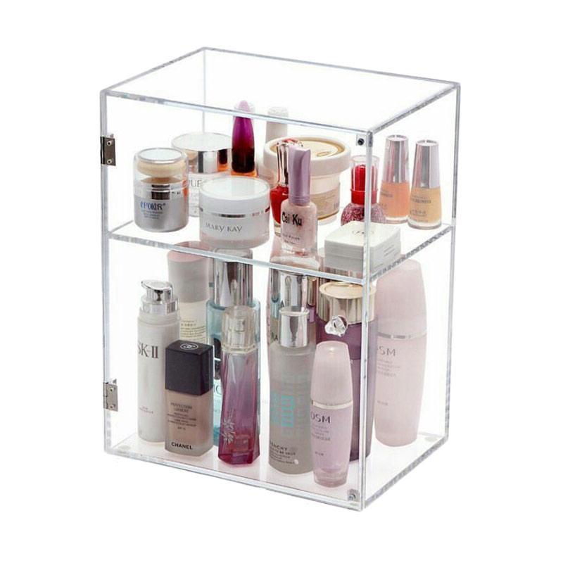 Acrylic Box Parfume 2 Tingkat