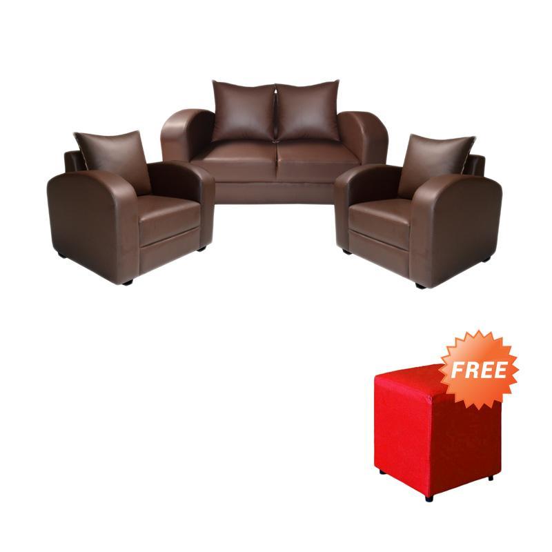 harga FCENTER Sofa 211 Azalea + FREE PUFF [ JABODETABEK ] Blibli.com