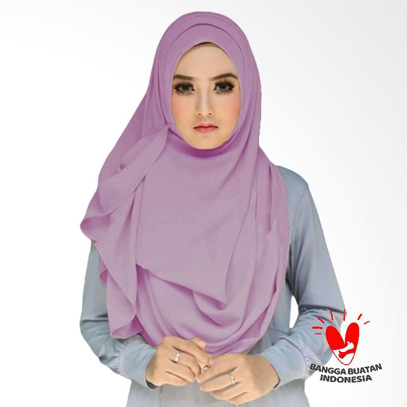 Milyarda Hijab Tazkia Kerudung Instan - Lavender