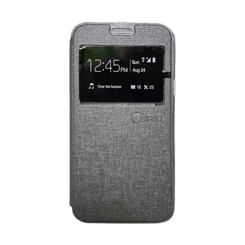 harga Nano Flip Cover Casing for Xiaomi Redmi Mi4i - Abu-abu Blibli.com