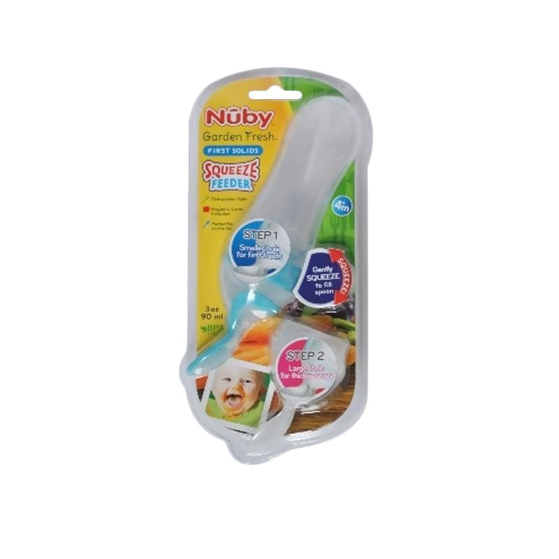 Nuby Garden Fresh Squeeze Feeder - Blue