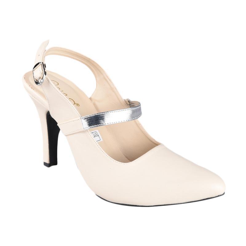 harga FP - Rena SN-245B Sepatu High Heels Wanita - Cream Blibli.com