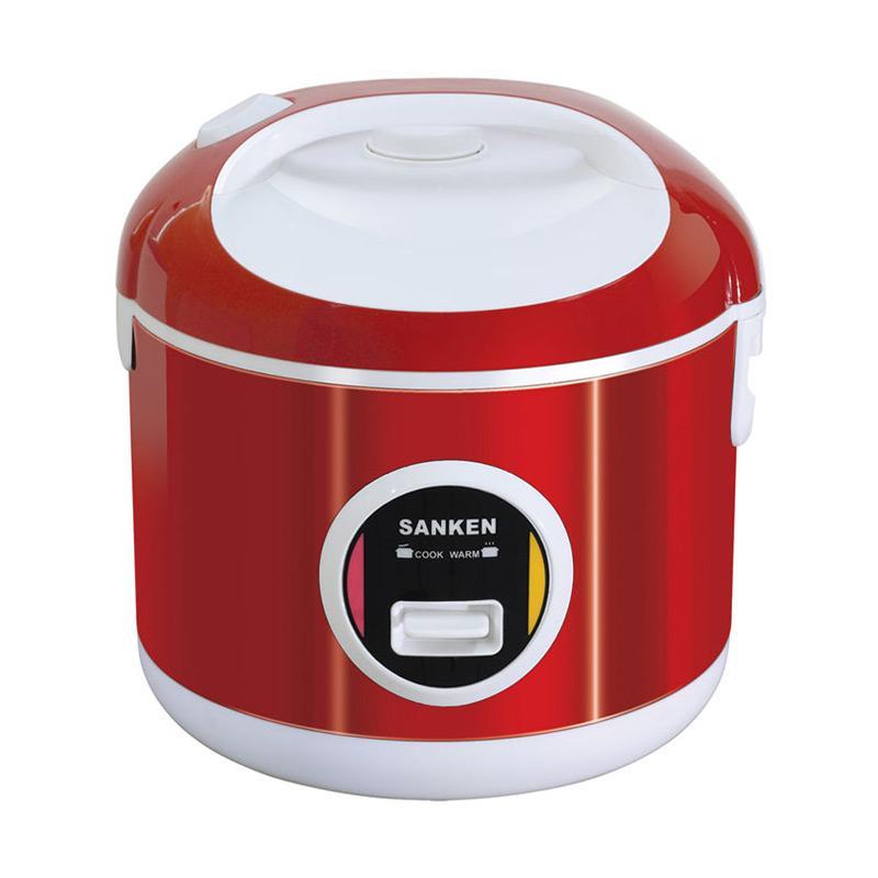 Sanken SJ200 6in1 Rice Cooker - Merah [1 Liter]