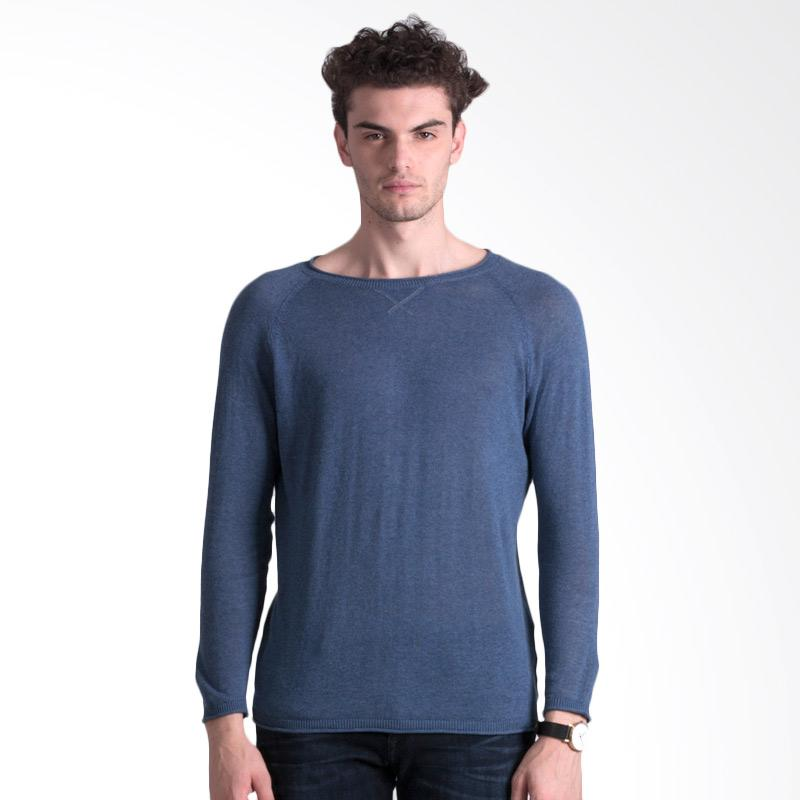 Svperbia Blue Knitting Sweater