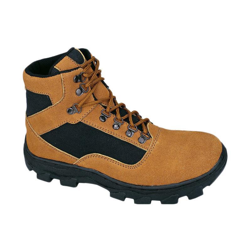 harga Syaqinah 243 Sepatu Hiking Pria - Tan Blibli.com