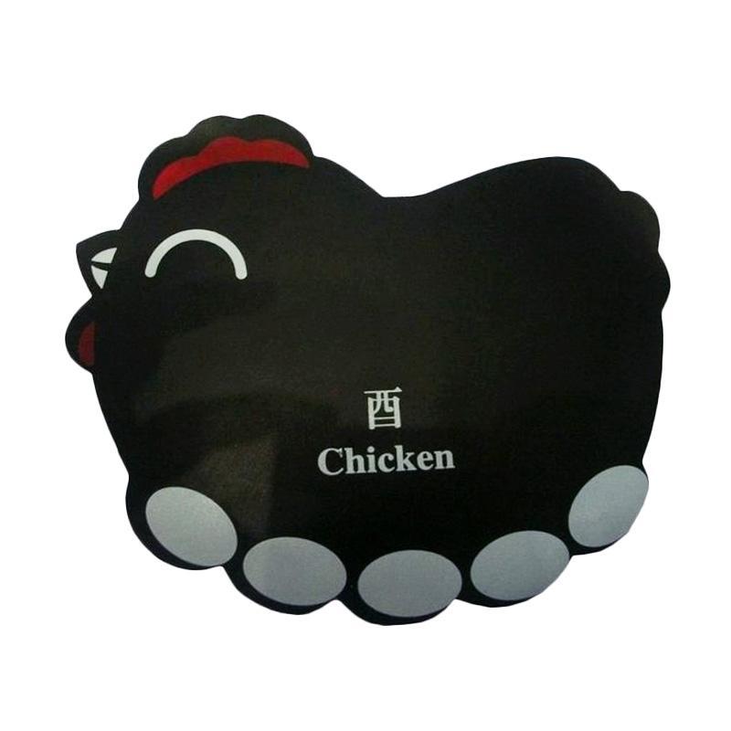 Universal Shio Ayam Mouse Pad - Hitam