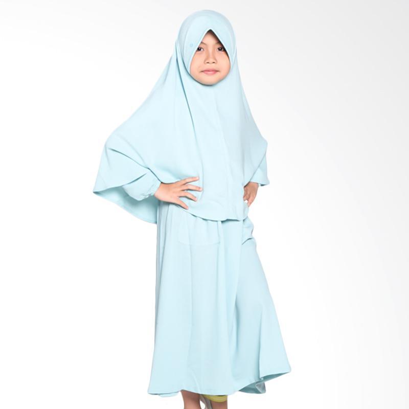 Allev Qarira Baju Muslim Anak - Baby Blue