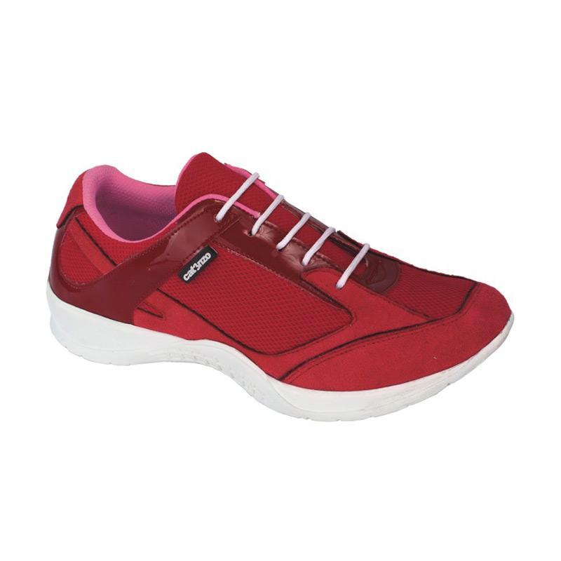 harga Catenzo HM 006 Sneaker Sepatu Wanita - Red Blibli.com